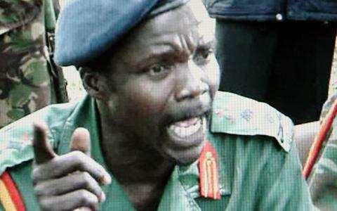 Joseph Kony, Lord's Resistance Army leader and one of the world's most wanted rebels